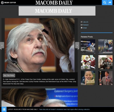Macomb Daily website image